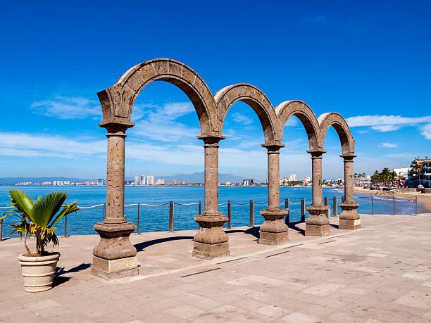 Arcos del Malecon sculpture in Puerto Vallarta