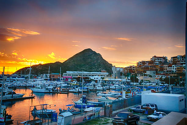Cabo San Lucas at sunrise