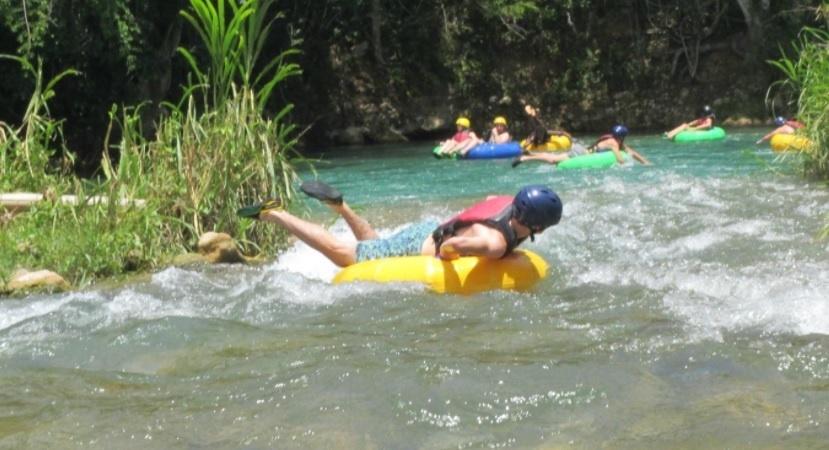 River Tubing Safari in Ocho Rios