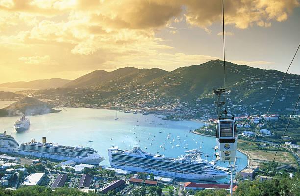 US Virgin Islands Top View