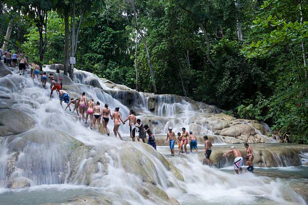 Dunn's River Falls, Jamaica, Caribbean