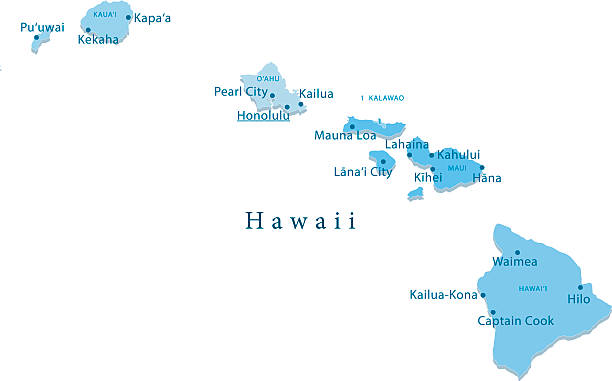 Hawaii Map Regions