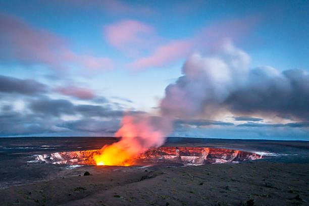 Volcanoes in Hawaii Big Island