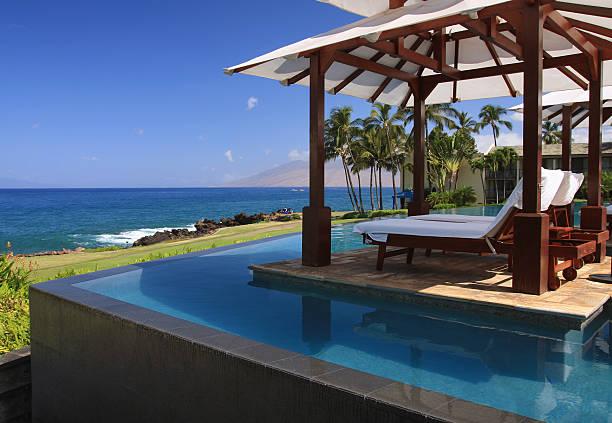 Maui Hawaii resort hotel infinity pool