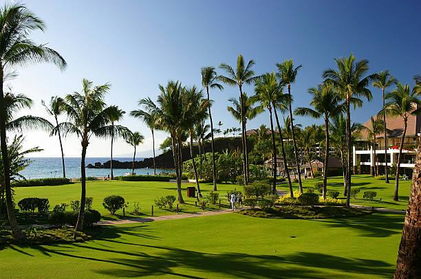 Maui resort grounds